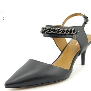 Coach Garland Soft Milled Leather Slingback Heel 9